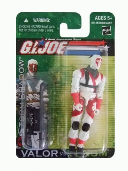 GI Joe Valor vs Venom - Storm Shadow Action Figure