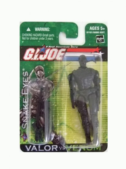 GI Joe Valor vs Venom - Snake Eyes Action Figure
