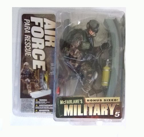 McFarlane Military Series 5 - Air Force Para Rescue (Caucasian) Action Figure