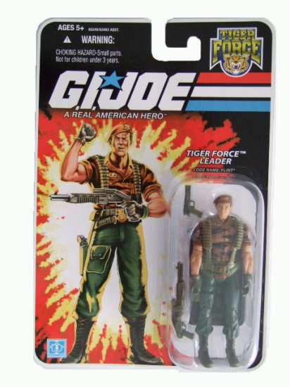 GI Joe 25th Anniversary Wave 8 - Flint Tiger Force Action Figure