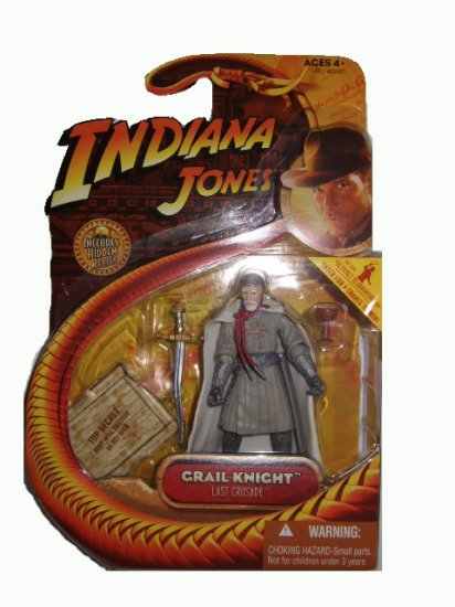Indiana Jones Series 3 - The Last Crusade Grail Knight Action Figure