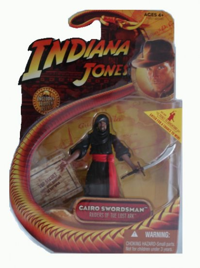 Indiana Jones Series 1 - Cairo Swordsman Action Figure