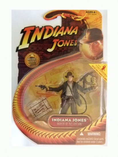 Indiana Jones Series 1 - Indiana Jones with Idol Action Figure