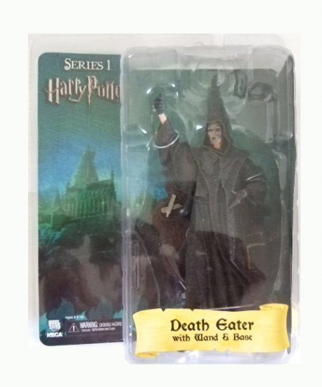 Harry Potter Series 1 - Death Eater (Wand & Base) Action Figure