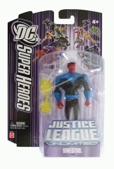 DC Super Heroes: Justice League Unlimited - Sinestro Action Figure