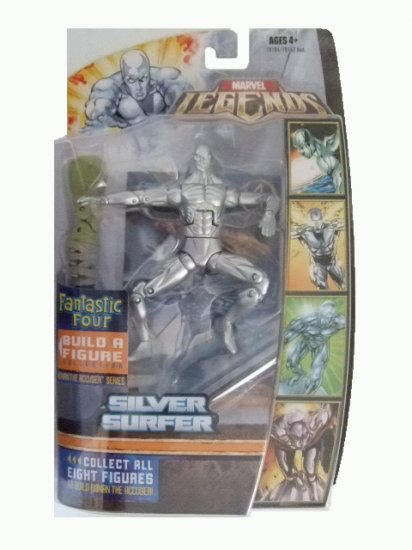 Marvel Legends Fantastic 4 Ronan Series - Silver Surfer Action Figure
