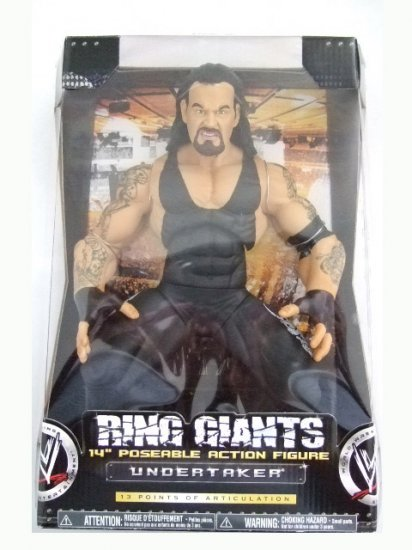 "WWE Ring Giants Series 9 - Undertaker 14"" Inch Action Figure"