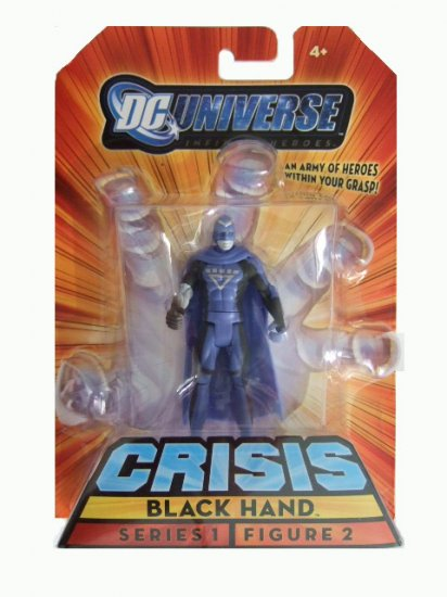 DC Universe Infinite Heroes Series 1 - Black Hand Action Figure