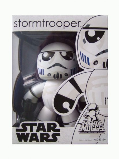 Star Wars Mighty Muggs Series 1 - Stormtrooper Action Figure