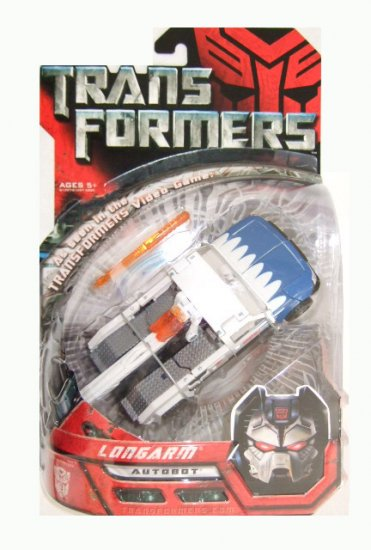 Transformers The Movie Deluxe Class -  Longarm Action Figure
