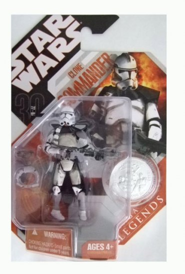 Star Wars 30th Anniversary Saga Legends - Clone Commander Action Figure