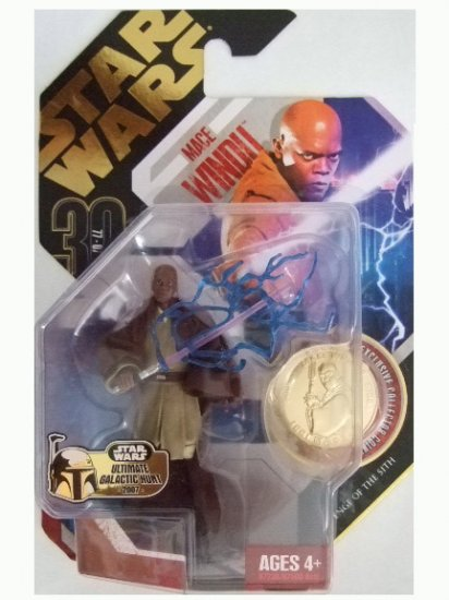 Star Wars 30th Anniversary Ultimate Galactic Hunt - Mace Windu Action Figure