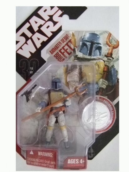 Star Wars 30th Anniversary Wave 4  - Holiday Special Boba Fett Action Figure