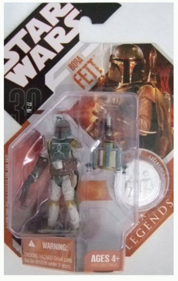 Star Wars 30th Anniversary Saga Legends - Boba Fett Action Figure