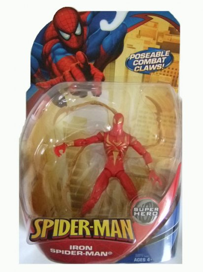Spider-Man Trilogy Series 3 -  Iron Spider-Man Action Figure