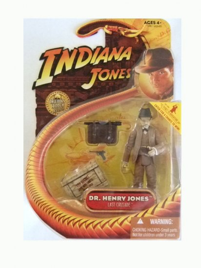 Indiana Jones Series 3 - Dr. Henry Jones Action Figure