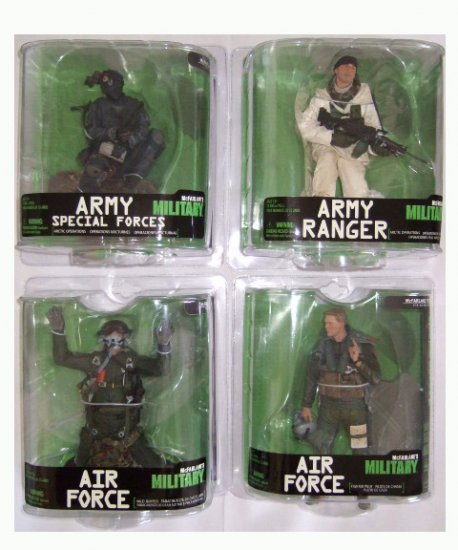 McFarlane Military Series 7 Action Figure Set