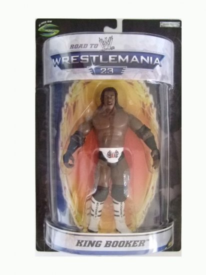 WWE Road to Wrestlemania 23 - Booker T Action Figure