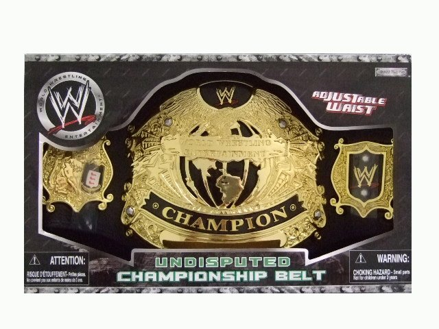 WWE Undisputed Championship Belt Accessory