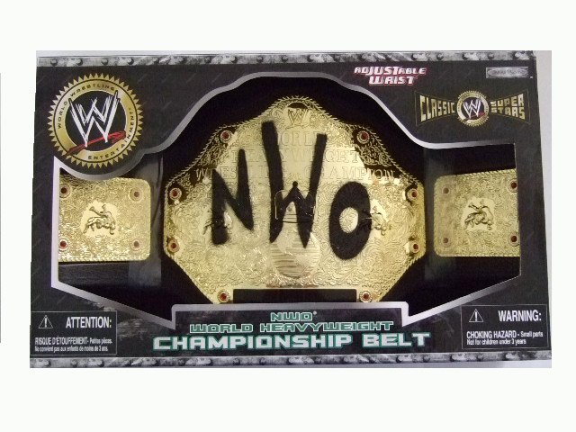 WWE NWO World Heavyweight Championship Belt Accessory