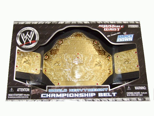 WWE World Heavy Weight Championship Belt Accessory