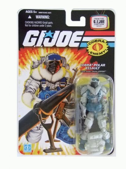 GI Joe 25th Anniversary Wave 9 - Snow Serpent Action Figure