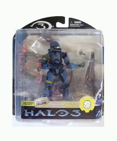 Mcfarlane Halo 3 Series 3 Exclusive - Spartan Soldier Scout Action Figure