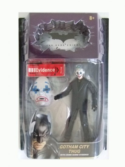 The Dark Knight Movie Masters - Gotham City Thug (Version #1) Action Figure