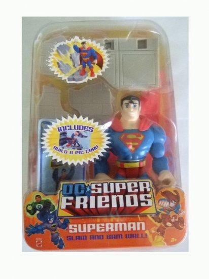 DC Super Friends - Superman Action Figure Justice League