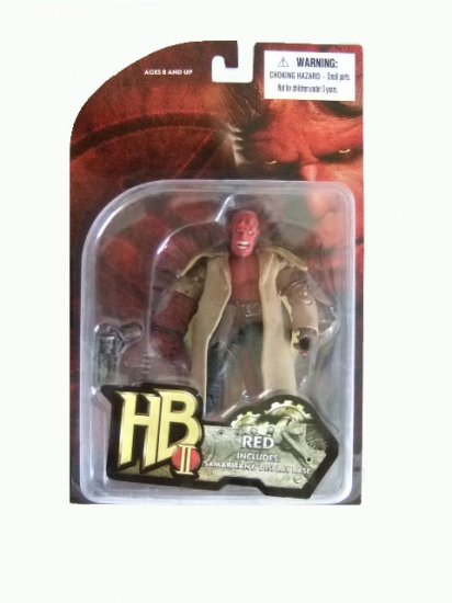 Hellboy II: The Golden Army - Hellboy 3 3/4 Inch Action Figure