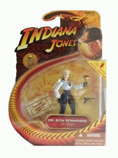 Indiana Jones Series 3 - Dr. Elsa Schneider Action Figure
