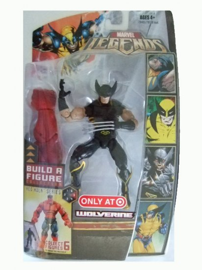 Marvel Legends Series 5 Exclusive - Wolverine Black Costume Variant Action Figure
