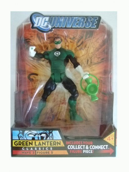 DC Universe Series 3 - Green Lantern (Distressed Packaging) Action Figure