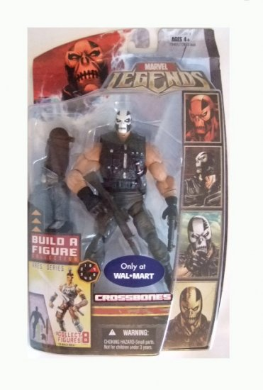 Marvel Legends Series 6 Exclusive - Crossbones Action Figure