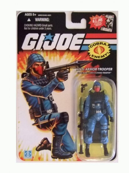GI Joe 25th Anniversary Wave 10 - Cobra Bazooka Trooper Action Figure