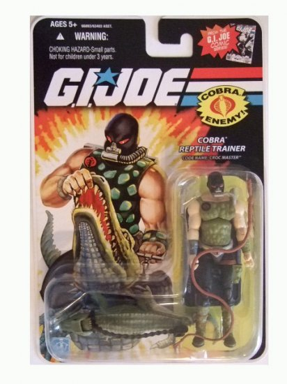 GI Joe 25th Anniversary Wave 10 - Croc Master Action Figure
