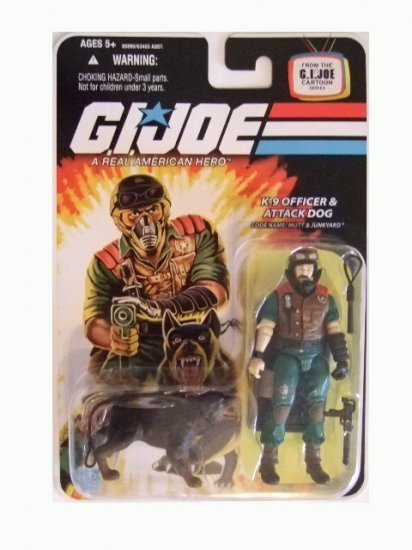 GI Joe 25th Anniversary Wave 10 - Mutt & Junkyard Action Figure
