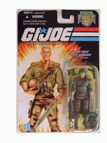 GI Joe 25th Anniversary Wave 10 - Tiger Force Duke Action Figure