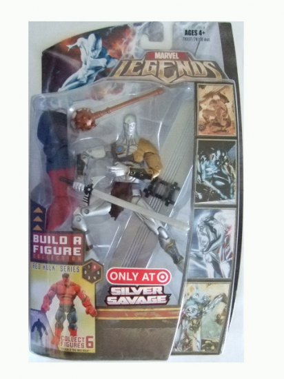 Marvel Legends Series 5 Exclusive - Silver Savage Action Figure
