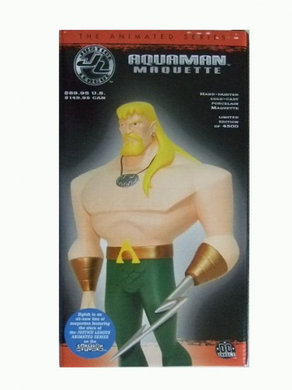 Justice League The Animated Series - Aquaman Maquette