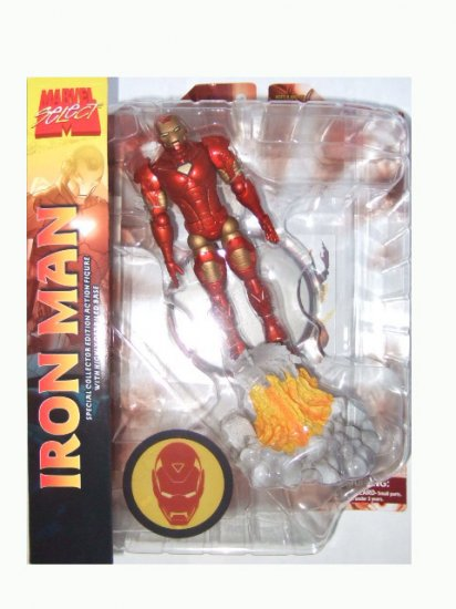 Marvel Select - Iron Man Action Figure