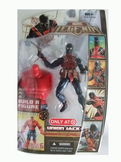 Marvel Legends Series 5 Exclusive - Union Jack Action Figure
