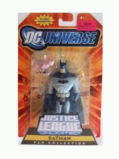 DC Universe Justice League Unlimited - Batman w/ Wonder Pig Action Figure
