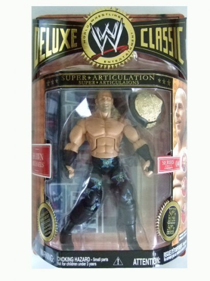 WWE Deluxe Classic Series 4 - Shawn Michaels Action Figure