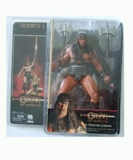 Conan The Barbarian Series 1 - Pit Fighter Conan Action Figure
