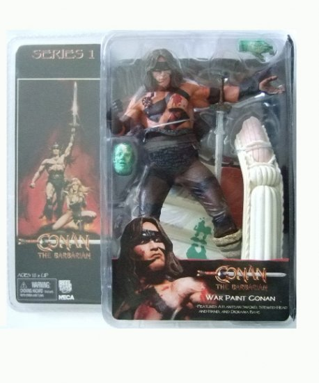 Conan The Barbarian Series 1 - War Paint Conan Action Figure