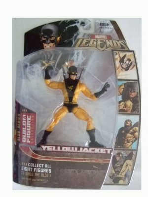 Marvel Legends Series 2 - Yellowjacket Gold Variant Action Figure