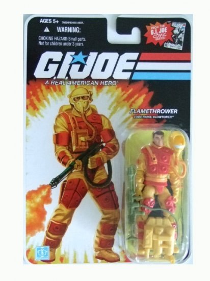 GI Joe 25th Anniversary Wave 13 - Blowtorch Action Figure