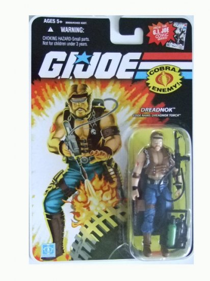GI Joe 25th Anniversary Wave 13 - Dreadnok Torch Action Figure