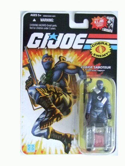 GI Joe 25th Anniversary Wave 13 - Firefly Action Figure